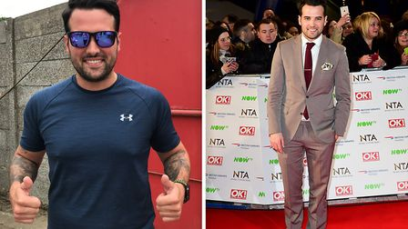 TOWIE star Ricky Rayment has joined The Blue Light Race fundraiser in aid of Meadowgate Academy. Pic