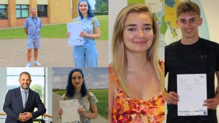 Thomas Clarkson Academy A-Level results success. Picture: TCA