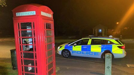 Police received 15 hoax 999 calls made by children calling from the same phone box in Parson Drove (