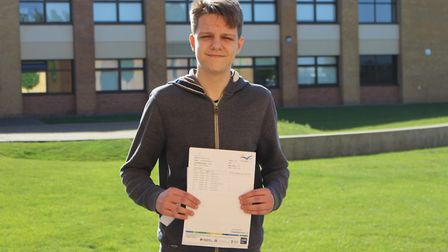 Alex will return in September to join our sixth form, with plans to study computer science, psycholo