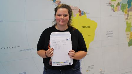 Jasmine is one step closer to her dream of becoming a paramedic after getting the grades she needed