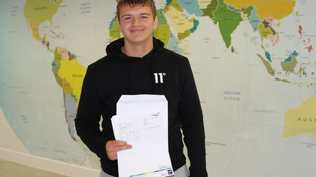 Danny was praised by his teachers for effort he put in this year while juggling his rugby commitment