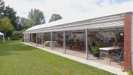 New event space at The Secret Garden Touring Park in Wisbech. Picture: Supplied