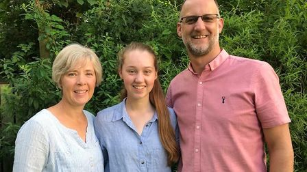 Annabel Dunstan recieved all 10 GCSEs at Grade 9.Picture: Supplied