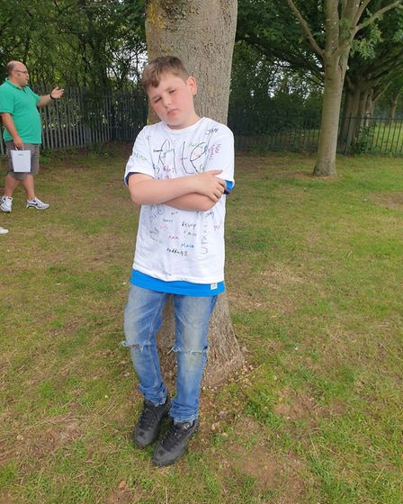 Ethan Crawford, who left Springfield JMI in Welwyn Garden City. Picture: Supplied