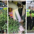 An early morning call to a suspected burglary in Churchill Road, Wisbech, led police to the discover