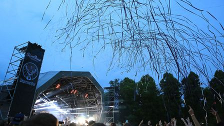 Slam Dunk Festival South in Hatfield. Picture: Kevin Richards