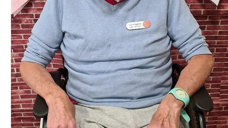 Chris has joined the wellbeing team at HC-One's St Christopher's care home. Picture: Supplied by HC-