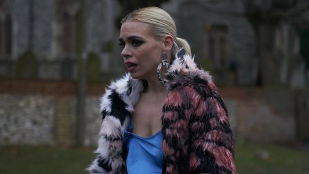 Billie Piper as Suzie Pickles, who has her life upended when she is hacked and pictures of her emerg