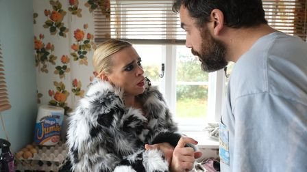 Billie Piper and Daniel Ings star in I Hate Suzie. Picture: Sky UK / Ollie Upton