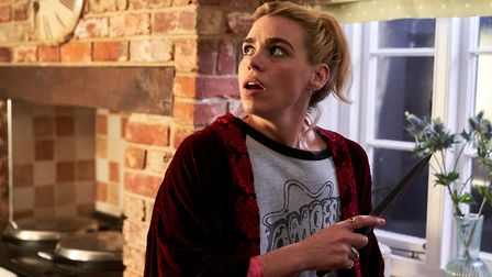 Billie Pipper as Suzie Pickles in Episode 3 - Fear - of I Hate Suzie. Picture: Alison Painter / Sky