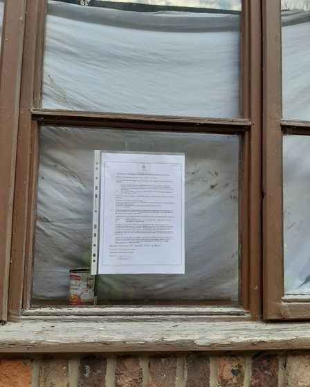 A closure notice has been served on a house in Wisbech following ongoing reports of anti-social beha