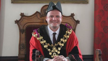Wisbech town council held its annual meeting and mayor making via Zoom in May and it was streamed o