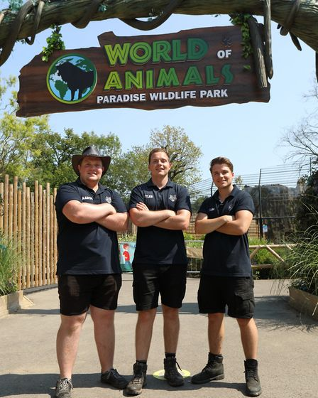 Paradise Wildlife Park has a TV series coming to you soon on CBBC called 'One Zoo Three' following