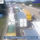 What the M25 near Junction 24 looks like currently. Picture: motorwaycameras.co.uk
