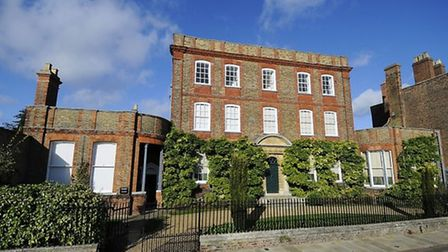 Peckover House in Wisbech Picture: Ian Burt