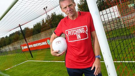 Former England international Stuart Pearce (pictured) and GVC Holdings have joined forces as part of