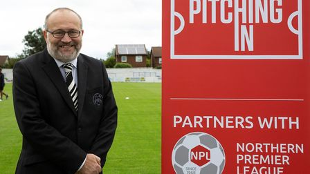 Mark Harris, chairman of the Northern Premier League. Picture: SUPPLIED/GVC HOLDINGS