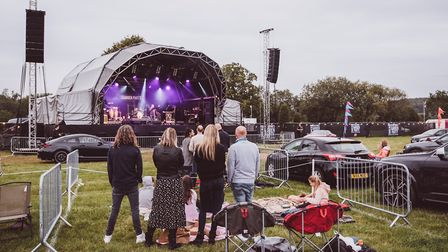 Pub in the Park's drive in Garden Party at Henley. Picture: Edd Cope