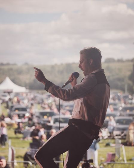 Kaiser Chiefs playing Pub in the Park's drive in Garden Party at Henley. Picture: Supplied by Pub in
