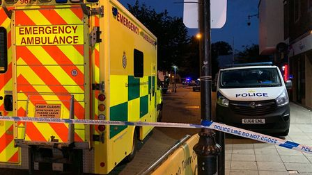 A person was taken to hospital following an assault in Wisbech town centre on Saturday September 5,