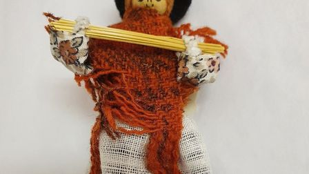 Straw plaiter peg doll, Peggy Straw, from the Dacorum Heritage Trust Picture: Supplied by HCC