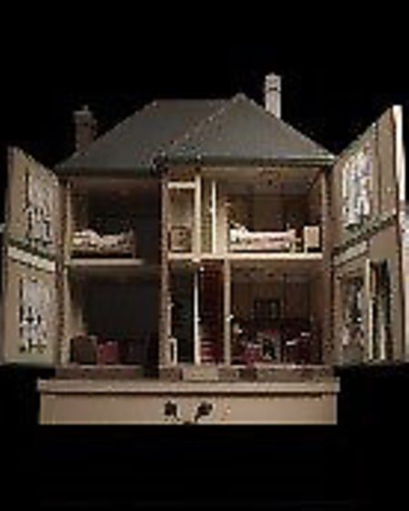Stevenage Museum's doll house. Picture: Supplied by HCC