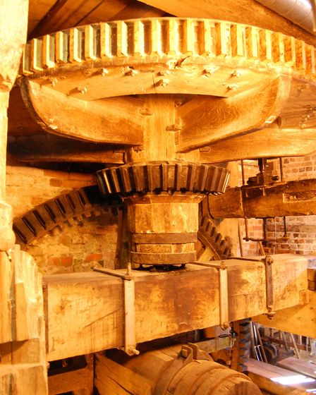 The mill at Mill Green Museum and Mill. Picture: supplied by Mill Green Museum