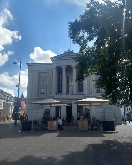 St Albans Museum + Gallery on its reopening day. Picture: St Albans Museums