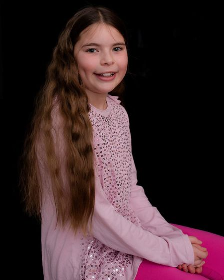 Melanie's other daughter, Emillia (pictured), also lives with autism. Picture: SUPPLIED/MELANIE STEE