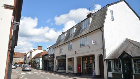 Welwyn High Street is back to a two-way system. Picture: Kevin Lines