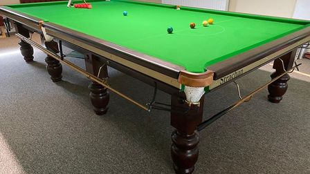 Welwyn Sports & Social Club's snooker room. Picture: Supplied