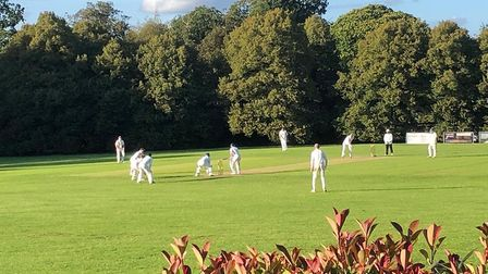 A picturesque shot of Welwyn Garden City Cricket Club. Picture: JIM CLEAR