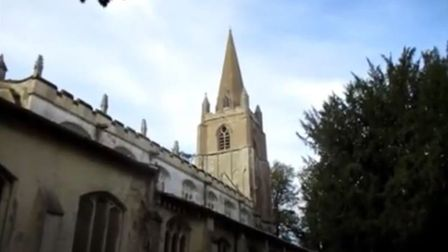 All Saints, Walsoken, commemorated the 80th anniversary of Battle of Britain with the return of bell