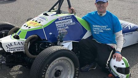 Wisbech man Bill Wom Garner, who is competing in the 2020 Formula Vee UK single-seater motor racing