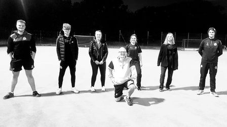 Wisbech Town Hockey Club held an inter-club match as they launched their young leaders' initiative.