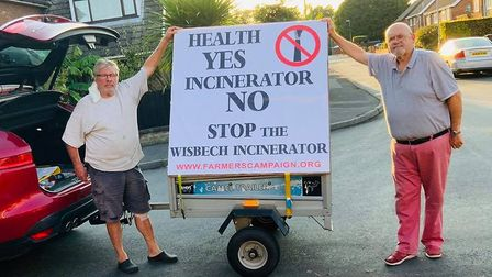 Campaigners conitnue to fight proposals for a mega incinerator to be built in Wisbech. Clive Coble a
