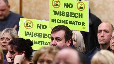 Residents continue to fight the Wisbech incinerator proposals. Picture; STEVE BARCLAY FACEBOOK