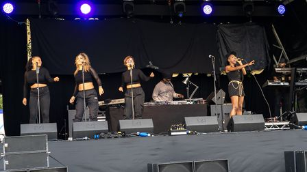 Soul II Soul at Pub in the Park's drive in Garden Party at Knebworth House. Picture: Robert James Ry