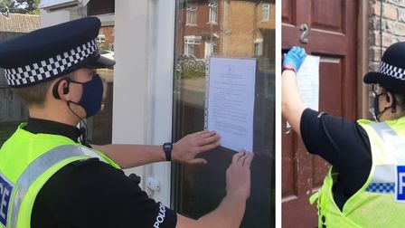 A three-month closure order has been served on flat 30, Brancaster Court in Staithe Road, Wisbech (l