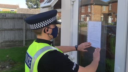 A three-month closure order has been served on flat 30, Brancaster Court in Staithe Road, Wisbech..