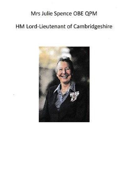 Lord Lieutenant Julie Spence - as the Queen's representative in Cambridgeshire - has acknowledged th