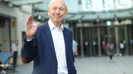 John Humphrys leaves New Broadcasting House after presenting his final show on the Today programme. Photograph: Yui Mok/PA...