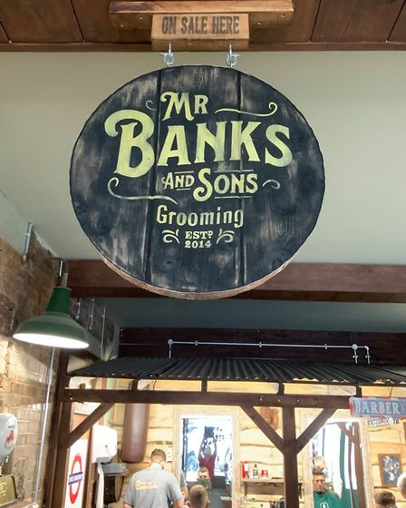 Lots of love being shown by Wisbech residents for Banks barber shop. Sean Banks want to install shut