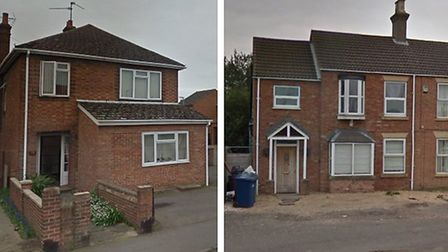 Plans have been submitted to Fenland planners for two HMOs. One at 74 Ramnoth Road (L) and another a