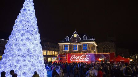 Peterborough's loss in Wisbech's gain as this spectacular - but controversial- Christmas tree is now