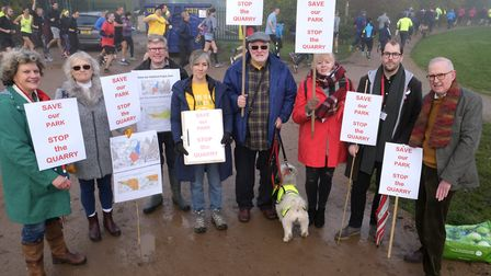 Cross party politcians oppose Ellenbrook quarry. Picture: Michael Howarth.