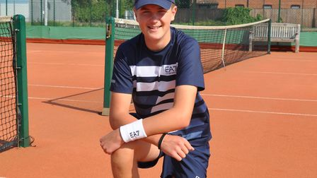 Seth Briggs-Williams added the county under 16s and under 18s singles titles alongside the men's dou