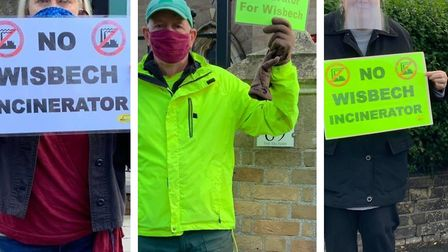 The message was loud, clear and to the point: NO incinerator for Wisbech. Protestors outside the Ros