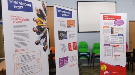 The opening day of MVV Environment's exhibition into the proposed incinerator for Wisbech. Pictures: